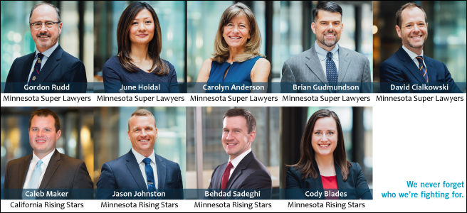 Zimmerman Reed's 2019 Super Lawyers and Rising Stars