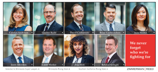 2020 Super Lawyers and Rising Star Honorees